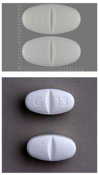 Gabapentin 800mg with G13 imprint